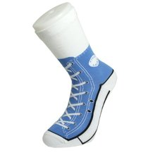Silly Socks - Blue Sneakers