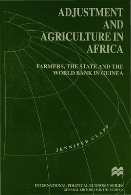 Adjustment and Agriculture in Africa by J Clapp image