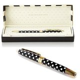Kate Spade Ballpoint Pen - To-Do Lists (Black/White Spots)