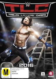 WWE: TLC Tables, Ladders & Chairs 2016 DVD image
