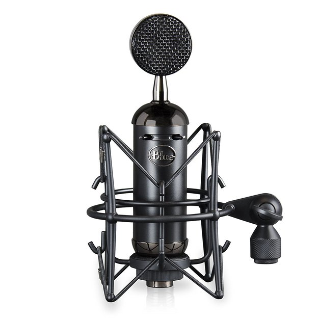 Blue Microphones Spark Blackout SL XLR Condenser Microphone (Black) for