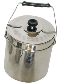 Kiwi Stainless Steel Billy - 160mm 3L