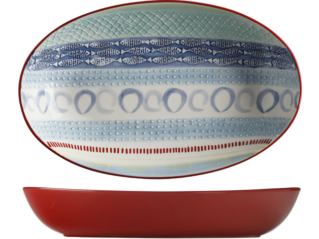 Maxwell & Williams: Laguna Oval Serving Bowl (42x26cm)