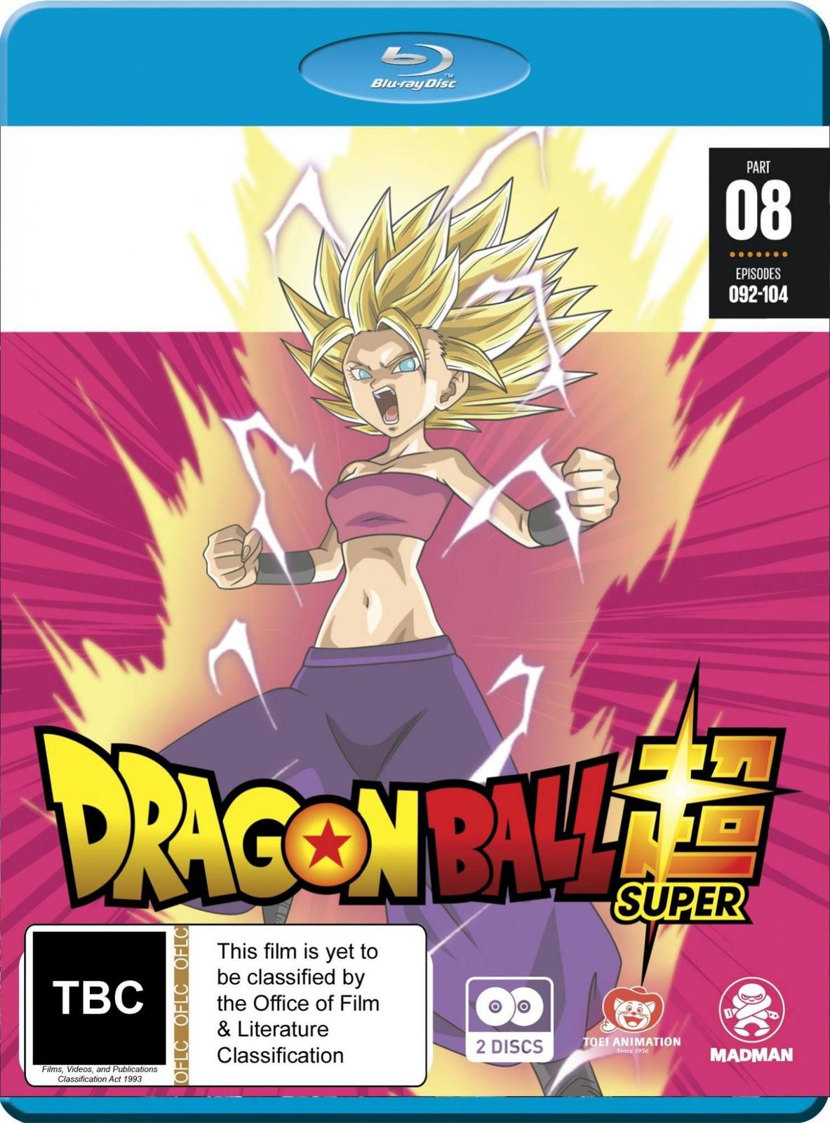 Dragon Ball Super - Part 8 (Eps 92-104) on Blu-ray image