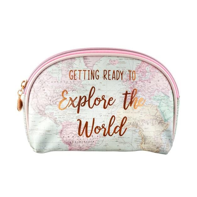 Sass & Belle: World Explorer Cosmetic Bag