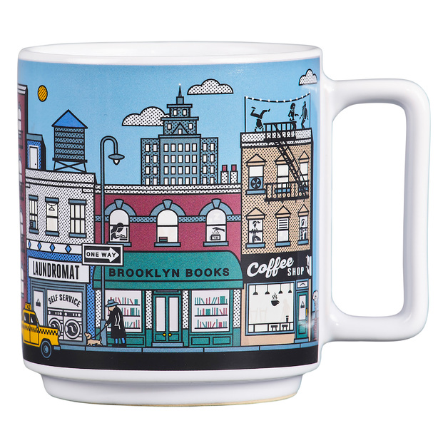 Heat Sensitive NYC Mug