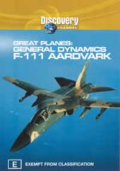 Great Planes: F-111 Aardvark on DVD