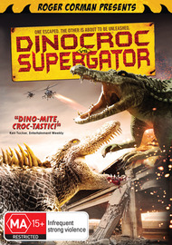 Dinocroc vs Supergator on DVD