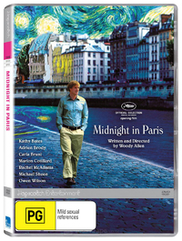 Midnight in Paris on DVD