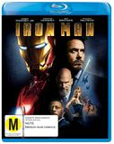 Iron Man on Blu-ray