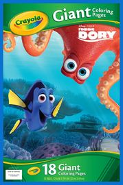 Crayola: Finding Dory - Giant Colouring Pages