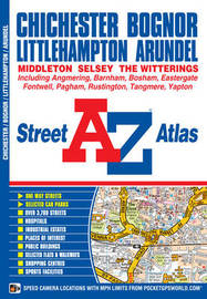 Chichester & Bognor Street Atlas by Geographers A-Z Map Co Ltd