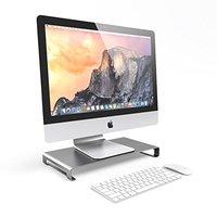 SATECHI: Slim Aluminium Monitor Stand (Space Grey)