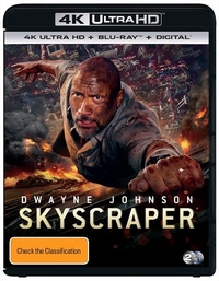 Skyscraper on UHD Blu-ray