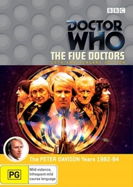 Doctor Who: The Five Doctors (25th Anniversary Edition) on DVD image