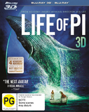 Life of Pi (3D Blu-ray/Blu-ray) DVD