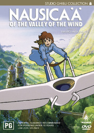 Nausicaa of the Valley of the Wind on DVD