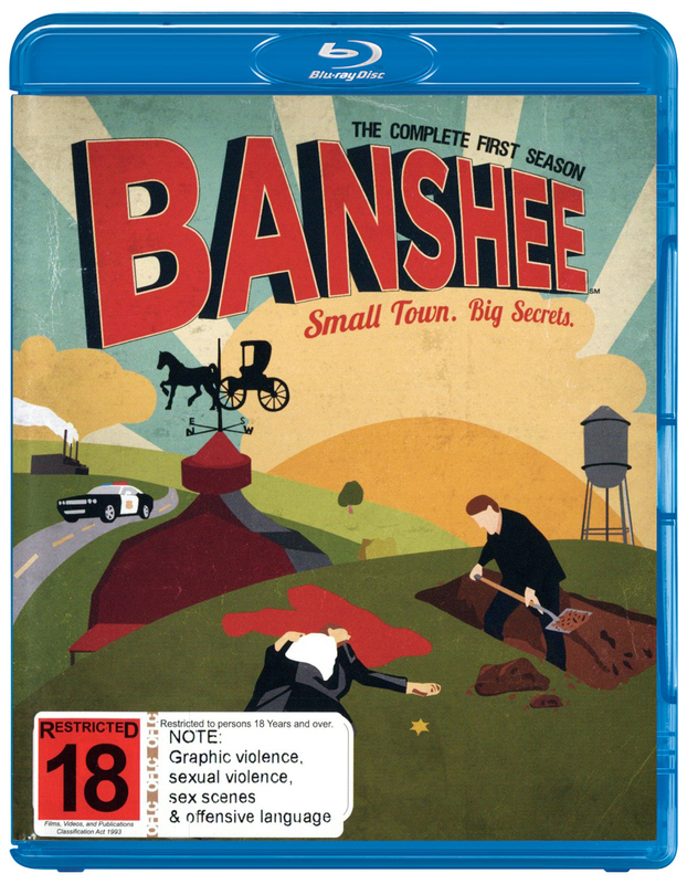 Banshee - The Complete First Season on Blu-ray
