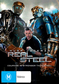 Real Steel on DVD