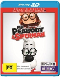 Mr Peabody & Sherman 3D on Blu-ray, 3D Blu-ray