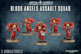 Warhammer 40,000 Blood Angels Assault Squad