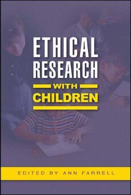 Ethical Research with Children by Ann Farrell image