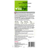 Vitapet: Super All Wormer Dogs & Puppies (4 Pack)