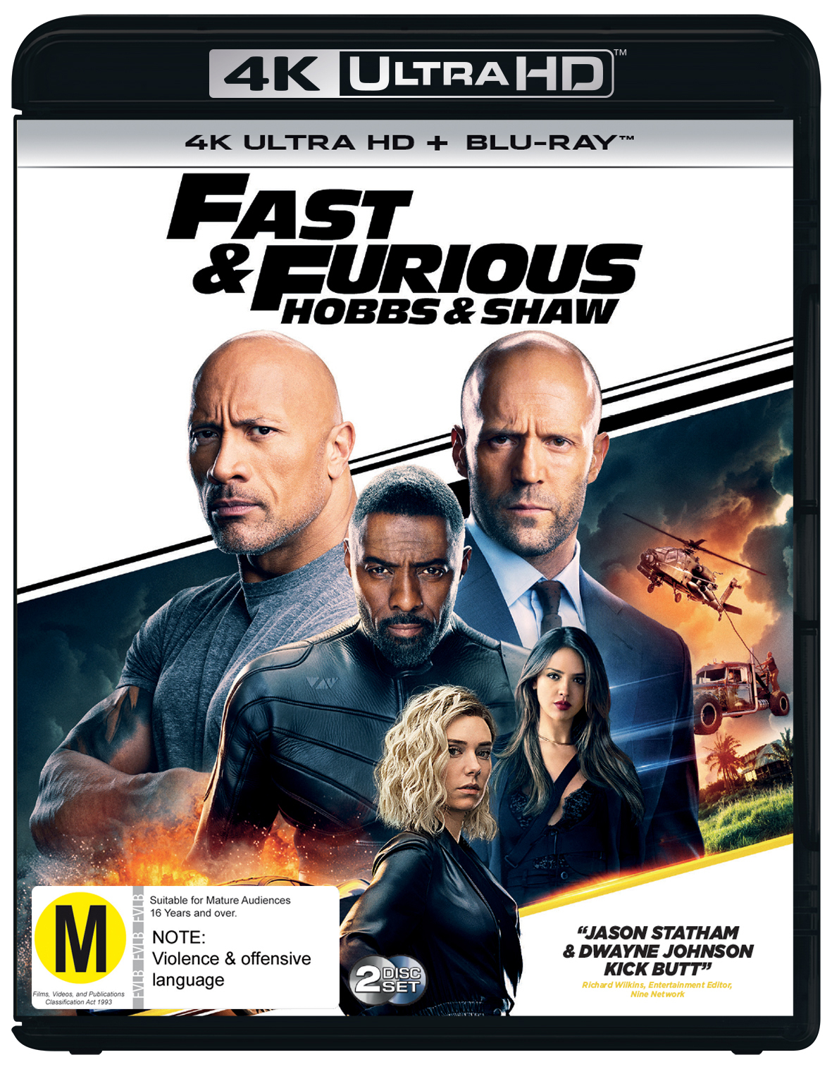Fast & Furious Presents: Hobbs And Shaw on UHD Blu-ray image