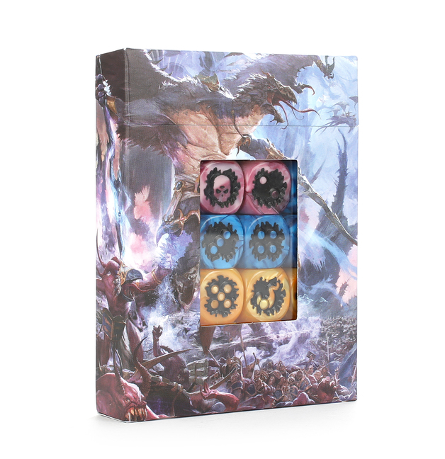 Warhammer Age of Sigmar Disciples of Tzeentch Dice Set