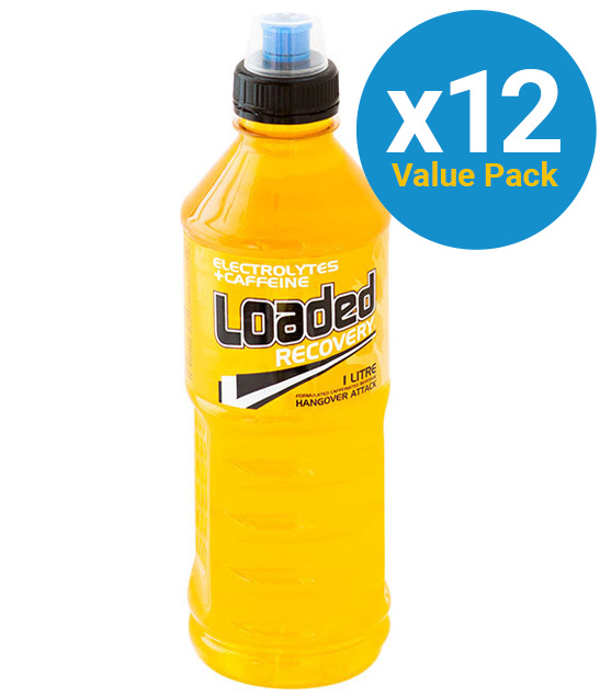 Loaded Sports Drink - Recovery 1L (12 Pack)