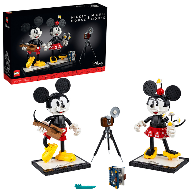 LEGO Disney: Mickey Mouse & Minnie Mouse Buildable Characters - (43179)