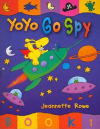 Yoyo: Go Spy by Jeanette Rowe image