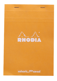 Bloc Rhodia Dot Pad A5 Matrix Dots (Orange)