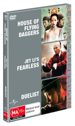 House Of Flying Daggers / Fearless / Duelist - 3 DVD Collection (3 Disc Set) on DVD