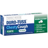 Duro-Tuss Chesty Forte Tablets (24's)