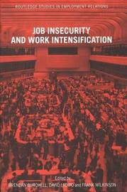 Job Insecurity and Work Intensification image