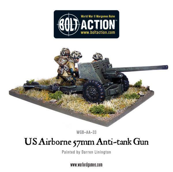 US Airbourne 57mm Anti-Tank Team