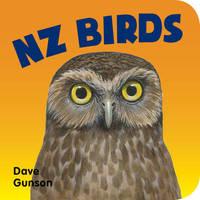 Nz Birds Board Book by Dave Gunson
