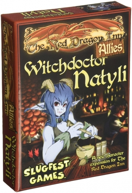 Red Dragon Inn: Witch Doctor Natyli image