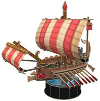 Cubic Fun: Roman Warship - 85 Piece 3D Puzzle image