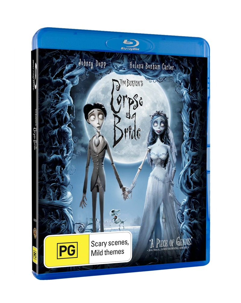 Tim Burton's Corpse Bride on Blu-ray image