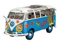 """Revell 1/24 VW T1 Samba (Combi) Bus """"Flower Power"""" - Scale Model Kit"""