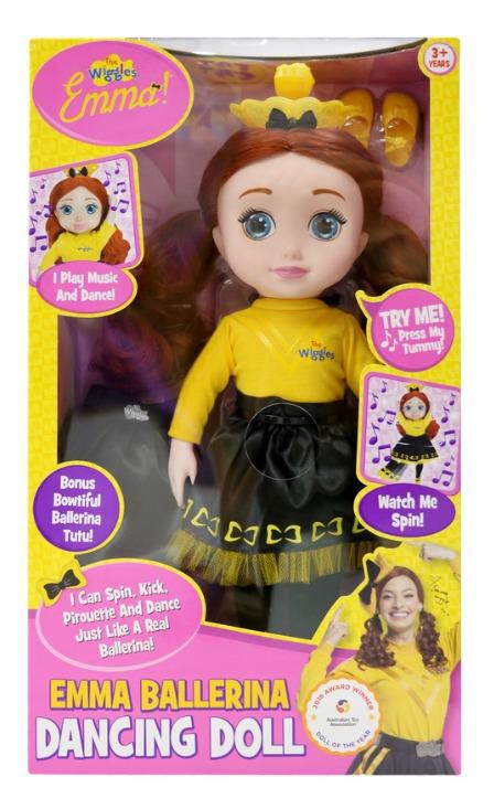 "The Wiggles: Ballerina Emma - 18"" Dancing Doll"