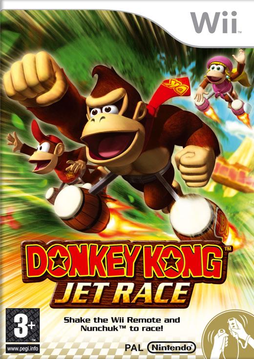 Donkey Kong Jet Race (AKA Donkey Kong Barrel Blast) for Nintendo Wii image