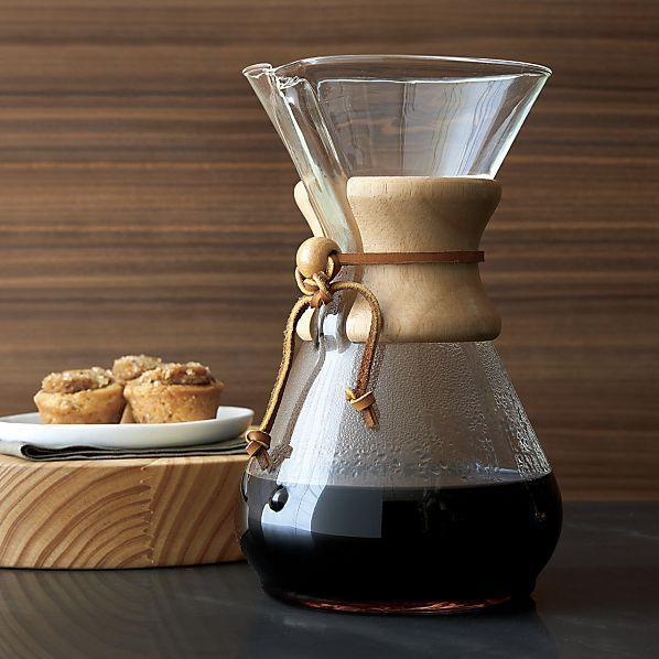 Chemex: 6-Cup Classic Glass Coffee Maker