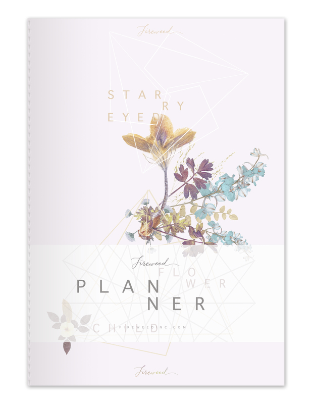 Fireweed: Dateless Planner - Flower Child