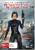 Resident Evil: Retribution on DVD