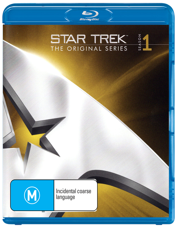 Star Trek The Original Series - The Complete First Season Remastered on Blu-ray