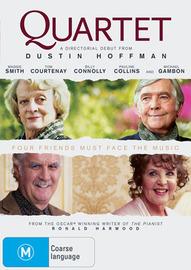 Quartet on DVD image