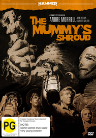 Hammer Horror - The Mummy's Shroud on DVD
